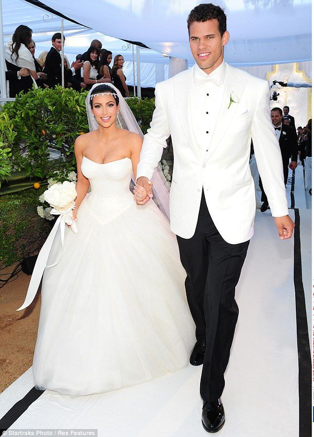 Kim Kardashian and Kris Humpries