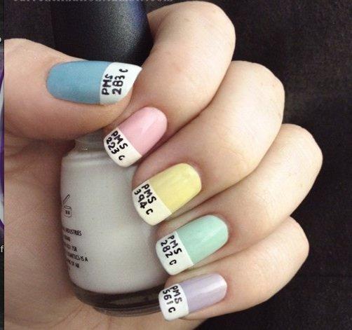 zodiac nail