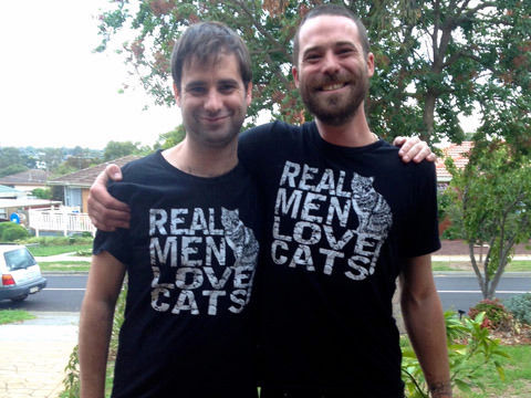 men who are obsessed with cats