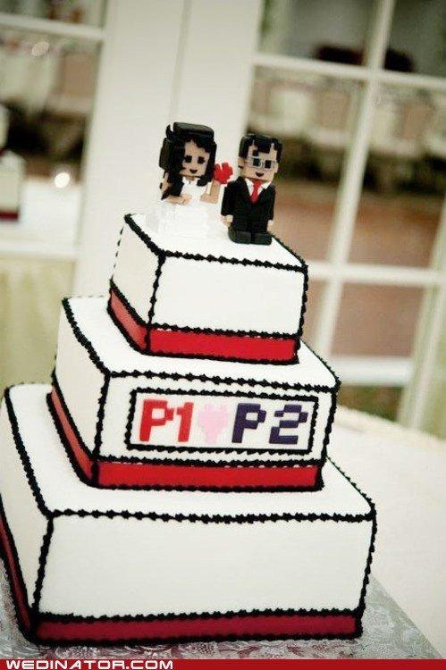 geeky wedding cakes