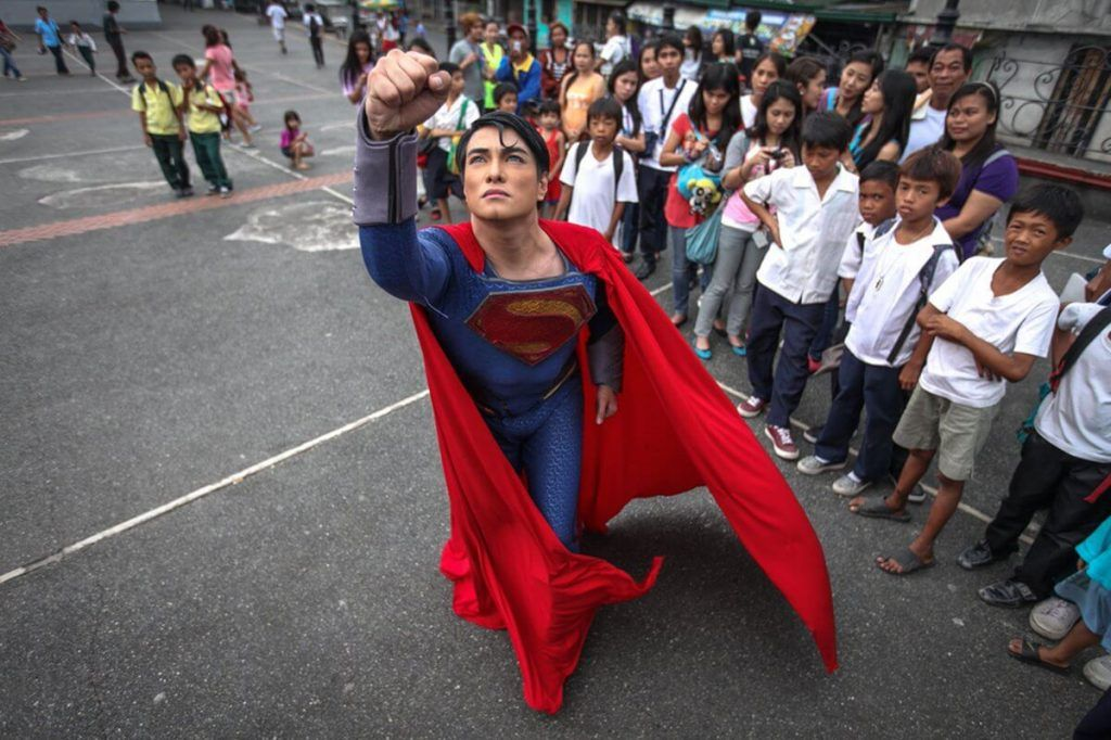 man looks like superman